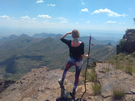 South Rim Hike of the Chisos Mtns