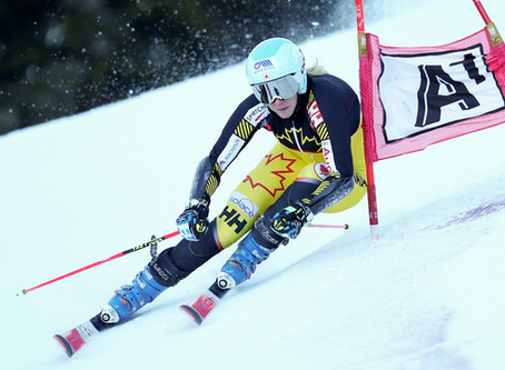 Train your knees for your skis.