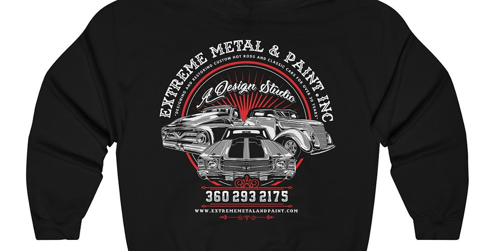 Extreme Metal Hot Rods Sweatshirt