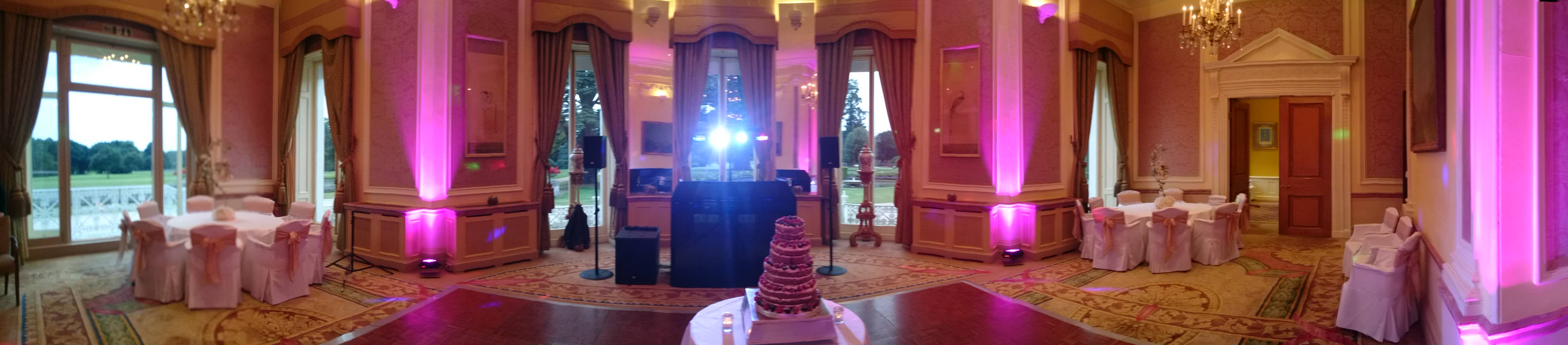 Wedding Cake and Setup