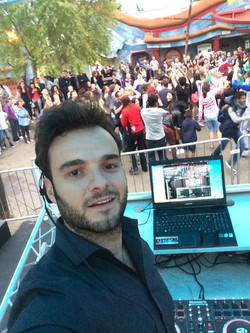 David Cardoso live at Thorpe park