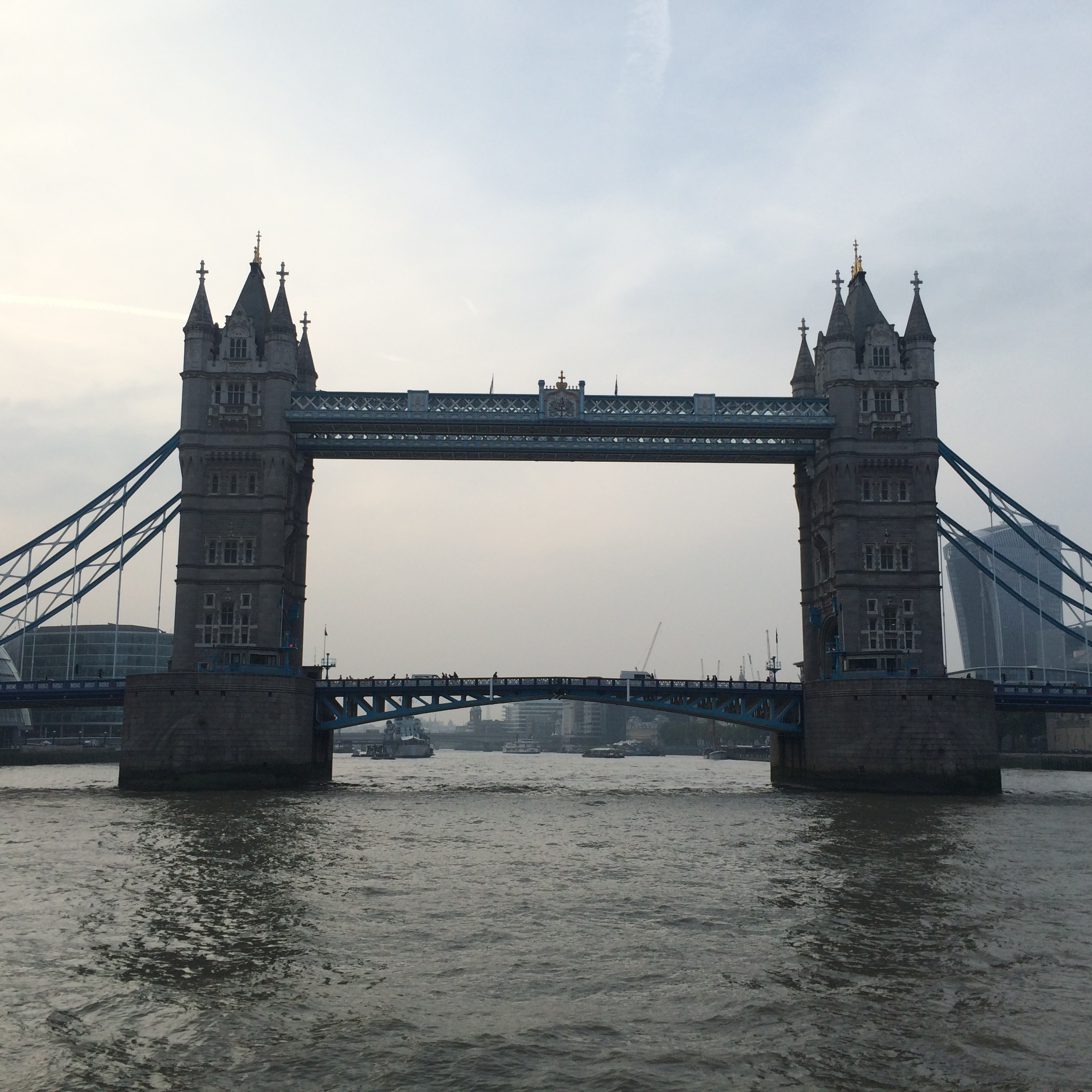 London Bridge from the river