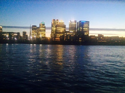 London Thames night