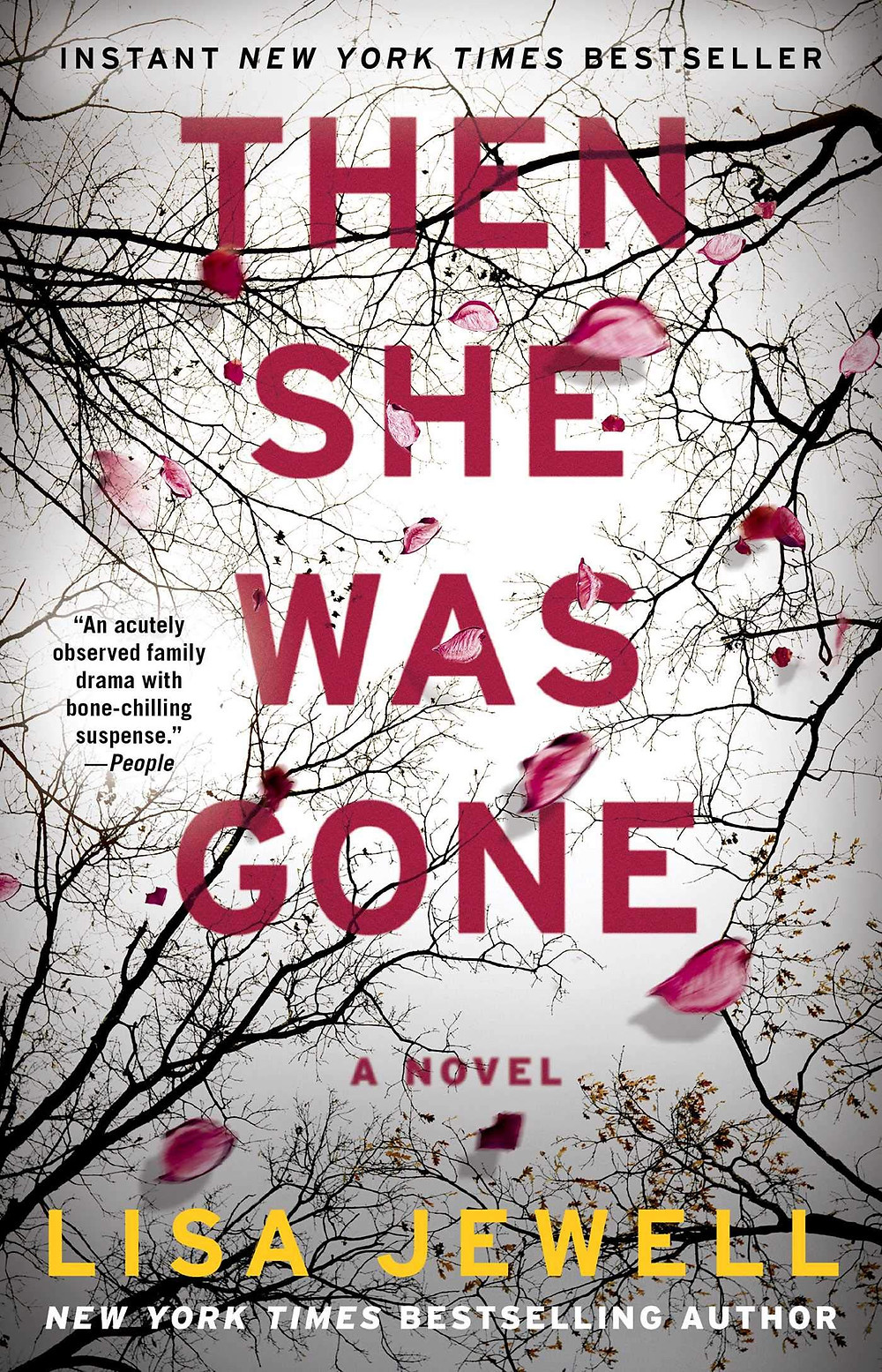 Then She Was Gone by Lisa Jewell: the book slut book reviews thrillers thebookslut