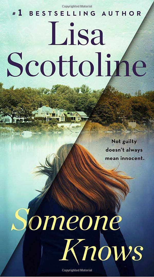 Someone Knows by Lisa Scottoline : the book slut book reviews thebookslut thrillers