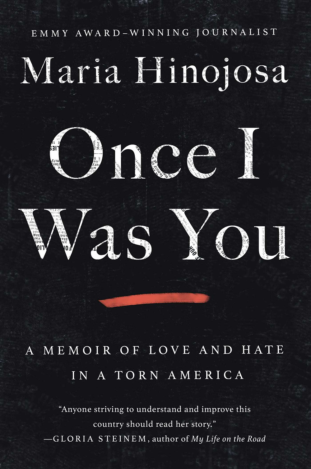 "Once I Was You: A Memoir of Love and Hate in a Torn America Maria Hinojosa (Author), The Book Slut book reviews, Description ""Maria's perspective is powerful and vital. Years ago, when In the Heights was just starting off-Broadway, Maria got the word out to our community to support this new musical about our neighborhoods. She has been a champion of our triumphs, a critic of our detractors, and a driving force to right the wrongs our society faces. When Maria speaks, I'm ready to listen and learn."" --Lin-Manuel Miranda Emmy Award-winning journalist and anchor of NPR's Latino USA, Maria Hinojosa, tells the story of immigration in America through her family's experiences and decades of reporting, painting an unflinching portrait of a country in crisis. Maria Hinojosa is an award-winning journalist who has collaborated with the most respected networks and is known for bringing humanity to her reporting. In this beautifully-rendered memoir, she relates the history of US immigration policy that has brought us to where we are today, as she shares her deeply personal story. For thirty years, Maria Hinojosa has reported on stories and communities in America that often go ignored by the mainstream media. Bestselling author Julia Alvarez has called her ""one of the most important, respected, and beloved cultural leaders in the Latinx community."" In Once I Was You, Maria shares her intimate experience growing up Mexican American on the south side of Chicago and documenting the existential wasteland of immigration detention camps for news outlets that often challenged her work. In these pages, she offers a personal and eye-opening account of how the rhetoric around immigration has not only long informed American attitudes toward outsiders, but also enabled willful negligence and profiteering at the expense of our country's most vulnerable populations--charging us with the broken system we have today. This honest and heartrending memoir paints a vivid portrait of how we got here and what it means to be a survivor, a feminist, a citizen, and a journalist who owns her voice while striving for the truth. Once I Was You is an urgent call to fellow Americans to open their eyes to the immigration crisis and understand that it affects us all. Also available in Spanish as Una vez fui t. bookslut, thebookslut.com, Publisher Atria Books Publish Date September 15, 2020 Pages 352 Language English Type Hardcover EAN/UPC 9781982128654 BISAC Categories: Editors, Journalists, Publishers Emigration & Immigration Women"