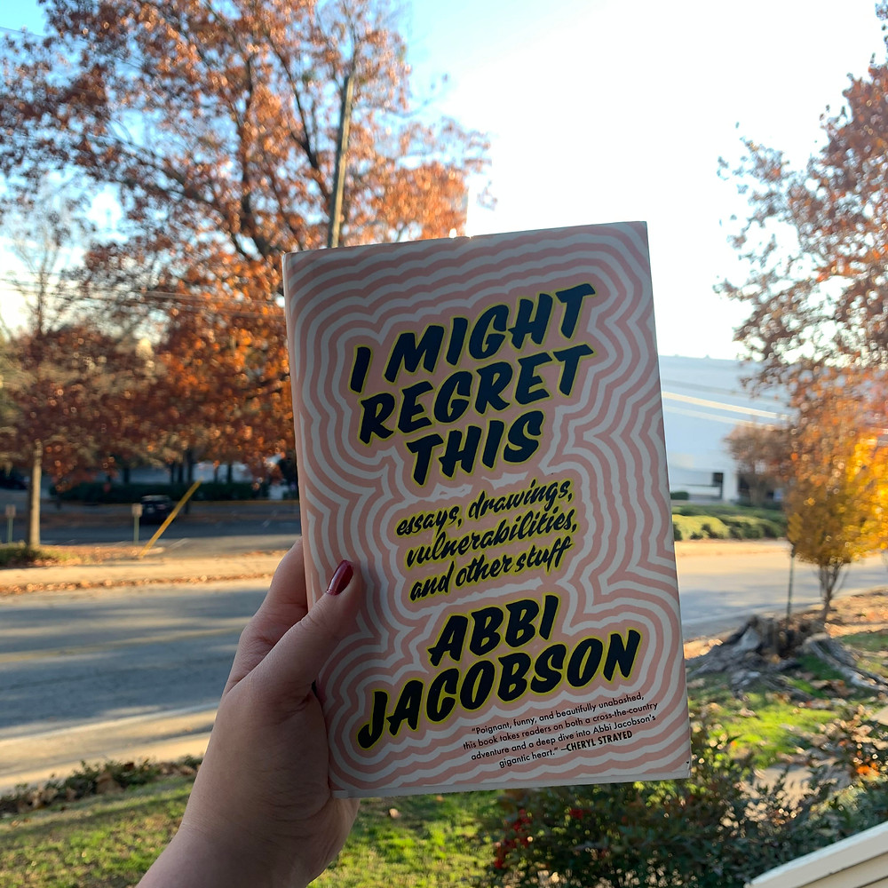 I might regret this by abbi jacobson review for the book slut