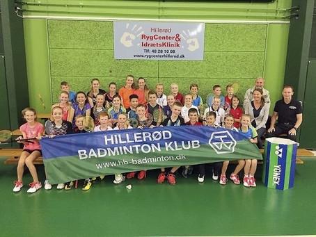 Hillerød Badmintonklub afholder ordinær generalforsamling torsdag den 31. oktober 2019