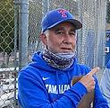 Tim Amyx TAM baseball 2021 practice cu.j