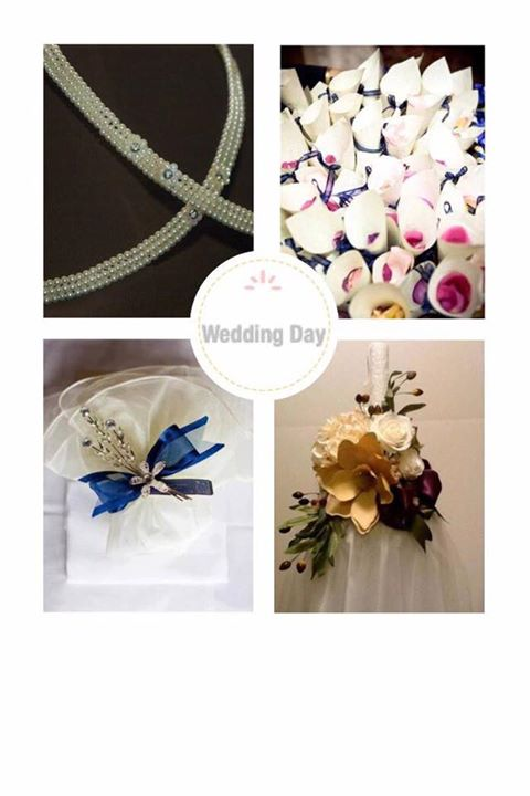 Let us make your wedding day special.  Creating one of a kind boubounieres and lambathas