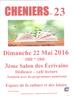 Salon des Ecrivains  CHENIER 23220