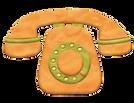 Детская иллюстрация - телефон
