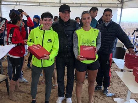 Doblete de Sabrina López / Eva Fernández en el ITF$10.000 de Saïdia, Marruecos