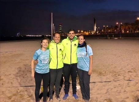 Antomi Ramos, campeón del mundo de tenis playa, se une al equipo de #beachtennisBCNschool