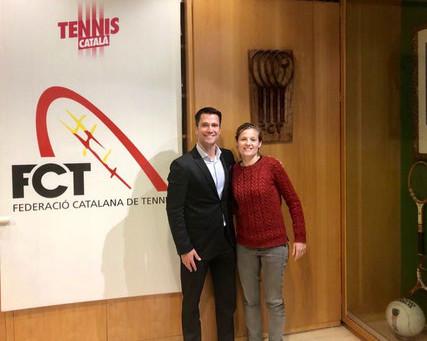 Alba Gamell, nombrada Responsable de tennis platja de la Federació Catalana de Tennis