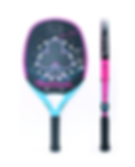 Beach Tennis Racket Silver Club