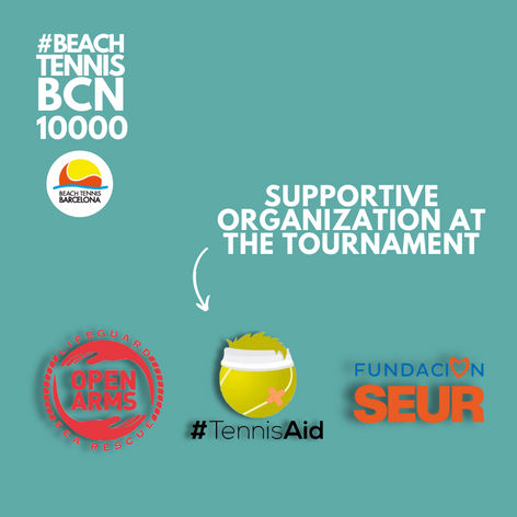 Join the most supportive beach tennis!
