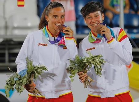 Medalla de bronze para Eva Fernández en los II Mediterranean Beach Games