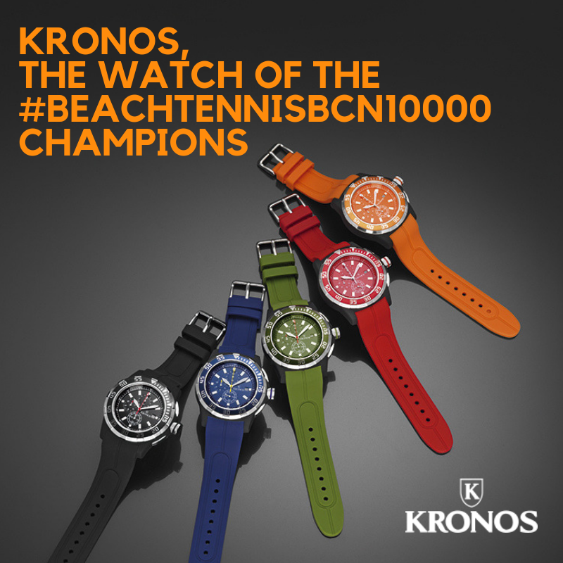 Kronos, the watch that sets the pace of the champions :)