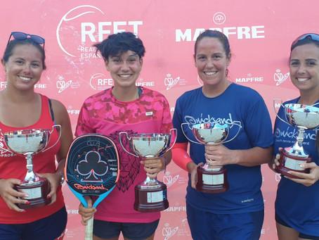 Eva Fernandez Campeona de los 4 torneos #LigaMapfre