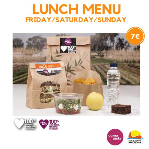Your picnic for the #beachtennisBCN10000