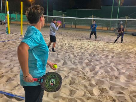 Nueva actividad de la Escuela de Tenis Playa