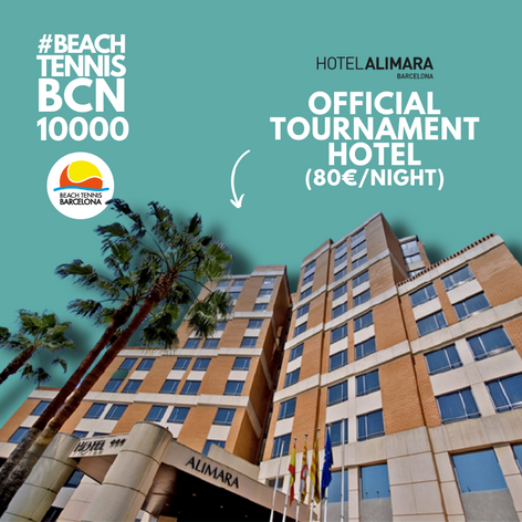 Official Hotel #beachtennisbcn10000