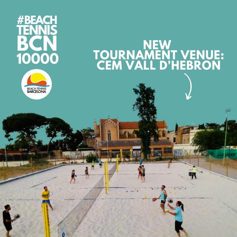 New tournament venue!