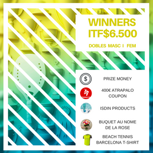 ITF$6500 prizes!