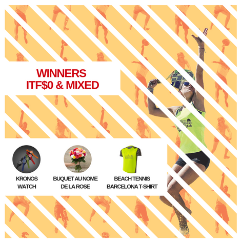 Prizes ITF$0 and Mixed category winners!