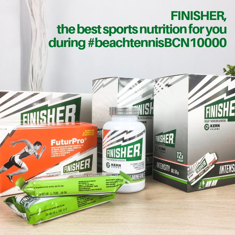 Finisher, this is for you