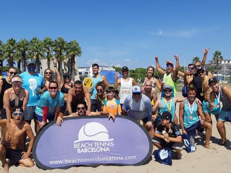 Nos despedimos del verano con un Torneito Inter BTB&friends en Chalito, Castelldefels