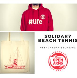 Apostamos por el beach tennis más solidario