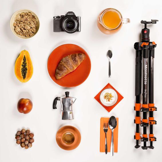 Manfrotto BeFree Orange