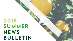 2018 Summer News Bulletin