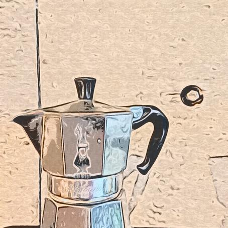 マキネッタでコーヒーを