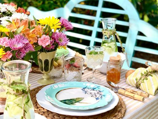 Mis tips para lograr una mesa Andreina Cottage Style.