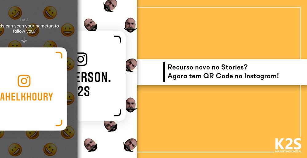 Agora tem QR Code no Instagram
