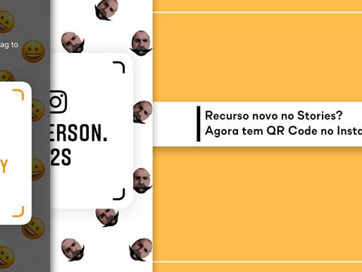 Recurso novo no Stories? Agora tem QR Code no Instagram!