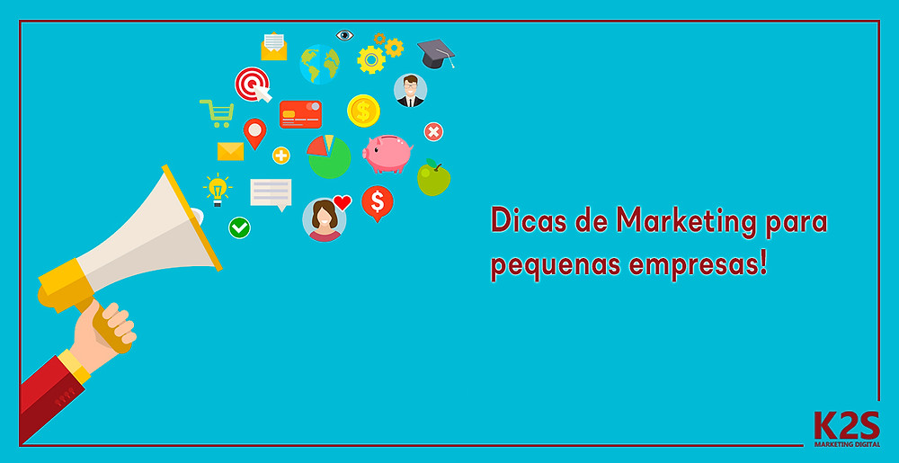 Dicas de Marketing pra pequenas empresas
