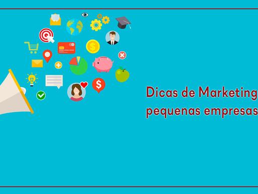 Dicas de Marketing pra pequenas empresas!