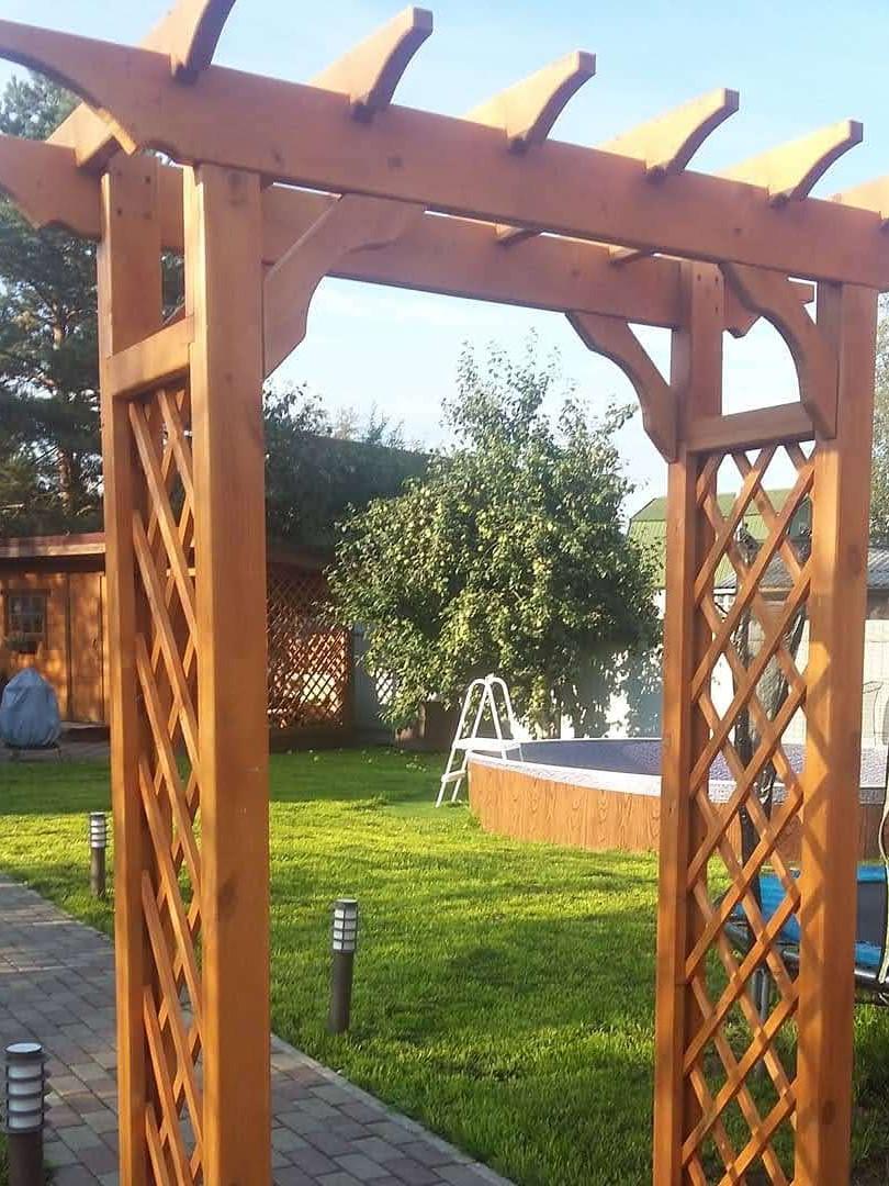 Садовая арка пергола