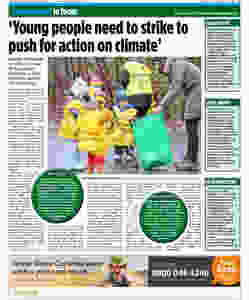 This is an image of the article written by UKYCC member Chirsty for the Edinburgh Evening News.