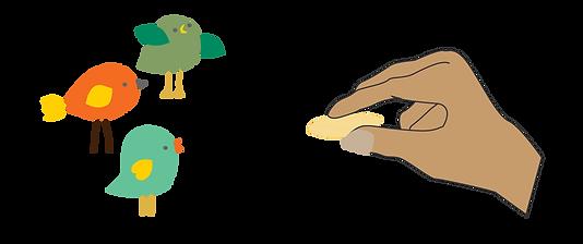 Feeding many birds with one SEED