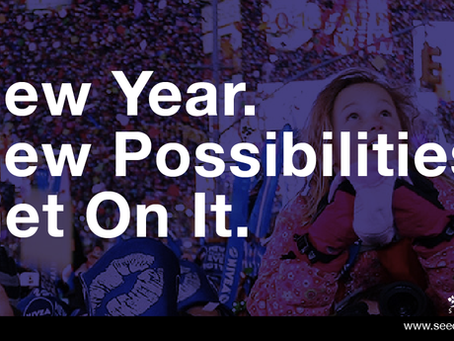 New Year. New Possibilities. Get On It.