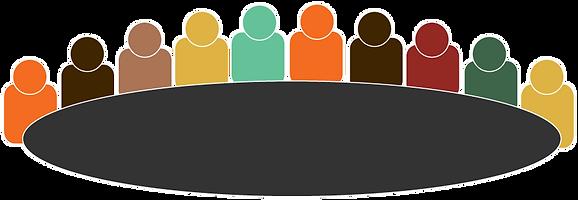 Ten people meeting
