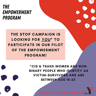 Who: Cis & trans women & non-binary people who identify as victim-survivors aged 18-25