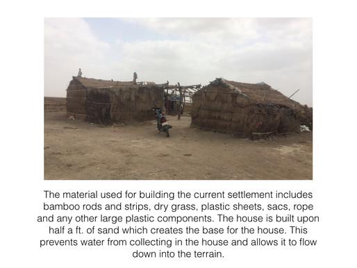 Temporary Shelters for Salt Farmers