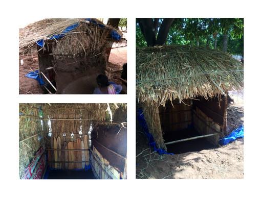 Temporary Shelter for Salt Farmers