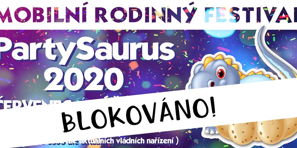 11 BLOKOVÁNO!    Mobilní rodinný festival PartySaurus